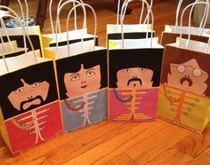 The Beatles Birthday Party Ideas (Festa dos Beatles)