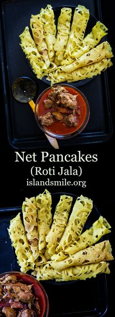 Net pancakes or Roti Jala as the Malaysians call it, is a street food and tea time snack that can easily be your next global breakfast dish to try.