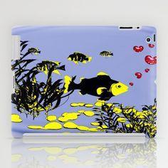in love under water iPad Case by DagmarMarina - $60.00