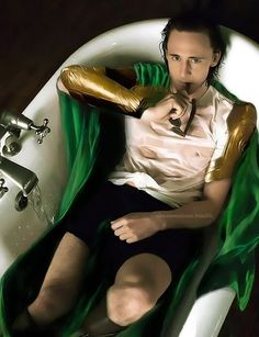 only villain I've known to get a sexy photo shoot...and that's because it's…