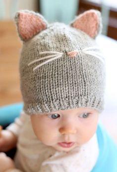 Bebek Örgü Bere Modelleri 2017