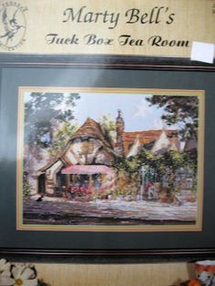 Tuck Box Tea Room Marty Bell Cross Stitch      Price: $5.50