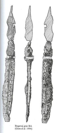 10th century Bogøvej, Langeland, Denmark. Knife with silver inlay.