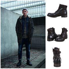JACK & JONES FOOTWEAR 👌 J&J Jf Wsiti Leather Boots  🎯