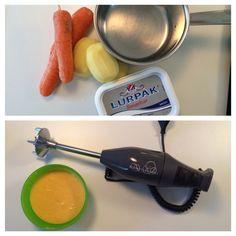 Nemme opskrifter på babys første mad.  Læs mere her: http://www.libidu.com/nemme-opskrifter-paa-babys-foerste-mad  #opskrifter #babysførstemad #kartoffelmos #libidu #blog