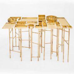 OCD Table by Esrawe Studio panders<br /> to compulsive organisation