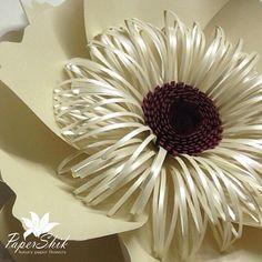 Flores de papel de PaperShik.   VK