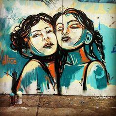 alice pasquini street art | Alice Pasquini street art in Italian market