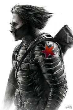 Winter Soldier - Captain America: The Winter Soldier by James Bousema