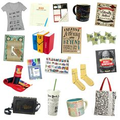 Looking for a graduation gift for your favorite English major? We rounded up a few gift ideas for writers/book lovers/word nerds that won't disappoint! (You'll definitely want to keep this guide on-hand for holidays, birthday, etc. too.)