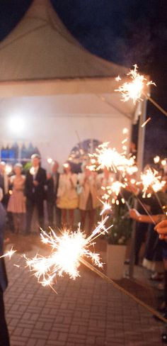 Po ślubie o ślubie: Atrakcje weselne - zimne ognie