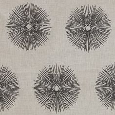 Sea Urchin - Ivory/Ebony Lee Jofa Fabric GWF-2809-168 Kelly Wearstler, Groundworks Indoor Multipurpose Fabric