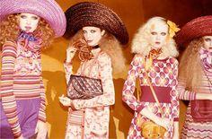 Olga Sherer, Natalia Zakharova, Siri Tollerod & Kristina Romanova for Marc Jacobs SS11
