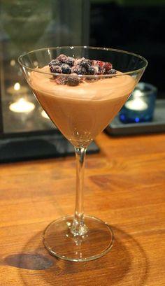 Yams, Dessert Recipes, Desserts, Martini, Sweet Recipes, Mousse, Good Food, Chocolate, Baking