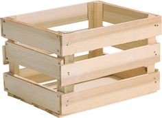 """1/2 Bushel Field Crate, Nailed [6] 15 1/8"""" x 12 1/4"""" x 9 5/8""""  $7.25 Price shown: EA  Package: 6"""