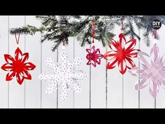 DIY by Panduro: Christmas star with paper folding - YouTube