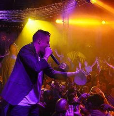 Macklemore & Ryan Lewis Perform at 1 OAK Nightclub on Dec 31, 2014