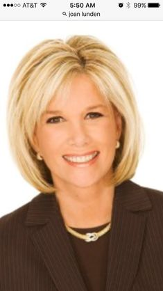 Joan Lunden biography, images and filmography. Read and view everything you want to know not only about Joan Lunden, but you can pick the celebrity of your choice. Medium Hair Cuts, Short Hair Cuts, Medium Hair Styles, Short Hair Styles, Hair Cuts For Over 50, Hair Styles For Women Over 50, Hair Over 50, Haircuts For Fine Hair, Box Braids Hairstyles