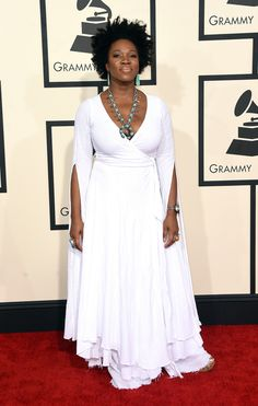 india arie RED CARPET | 14. India.Arie : Leave it to India.Arie to totally bring a boho vibe ...