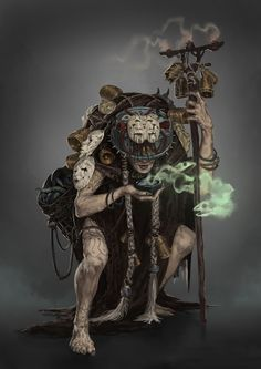 ArtStation - Silviu Sadoschi's submission on Ancient Civilizations: Lost & Found - Character Design
