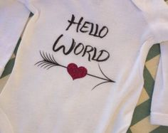 Baby girl onesie, baby girl, baby girl bodysuit, baby girl body suit, going home outfit, girl outfit, girl baby, girl onesie, baby - Edit Listing - Etsy