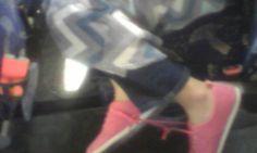Ashelys shoelaces tied together