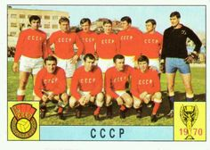 USSR team group for the 1970 World Cup Finals.