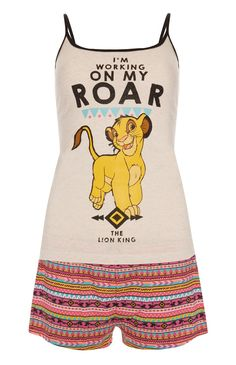 Primark - Set van hemdje en shorts Simba Disney