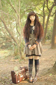 #mori #japan #fashion