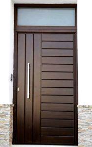 - September 21 2019 at Modern Entrance Door, Main Entrance Door Design, Wooden Main Door Design, Modern Wooden Doors, Wood Doors, Barn Doors, Single Main Door Designs, Double Door Design, Home Door Design