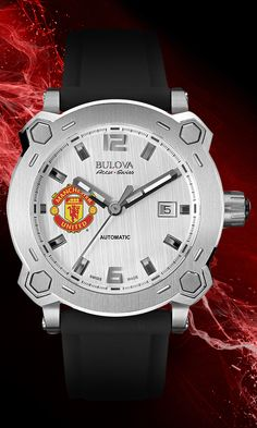 Treble Collection 63B195 #Bulova #MUFC