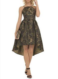 Photo 2 of **Chi Chi London Cami dip hem dress