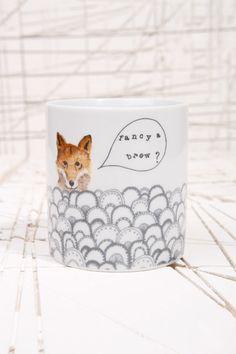 Dear Prudence Fancy A Brew Fox Mug
