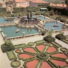 Villa Lante, Bagnaia, Viterbo- amazing fountain