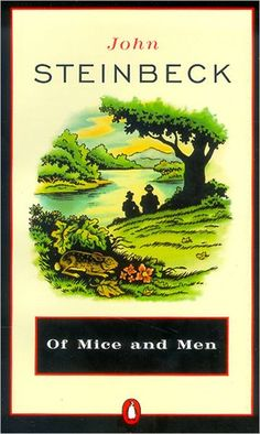"• ""Evening of a hot day started the little wind to moving among the leaves. The shade climbed up the hills toward the top. On the sand banks the rabbits sat as quietly as little gray, sculptured stones."" • OF MICE AND MEN • 1937 • STEINBECK •"