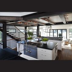 La Cornue kitchen - The design favors traditional elements with a modern or unexpected edge. Trends Top 50 Kitchens