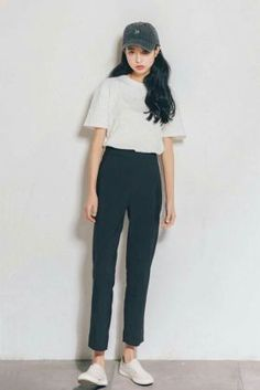 42 Fashion Outfits Teenage korean For Your Perfect Look This Summer – Mode Outfits Fashion Moda, Look Fashion, Girl Fashion, Fashion Outfits, Womens Fashion, Fashion Hacks, Fashion Ideas, Korean Fashion Trends, Korea Fashion
