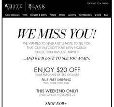 we miss you coupon - Google Search