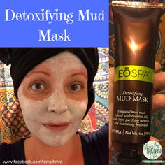 I LOVE this new Detoxifying mud mask infused with Juniper Berry, Grapefruit, and Myrhh oils!  Want to add this to your skin care regimen?