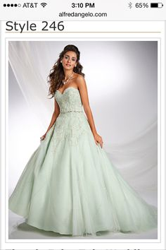 This dress makes me wish I was getting married lol
