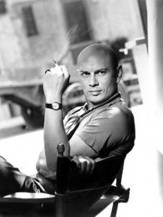 Yul Brynner. now I see who Dwayne Johnson has been trying to be this whole time.