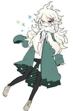 Komaeda genderbent, he looks nice as a girl.  :3