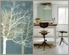 Spring Color Inspiration for Monochrome Spaces