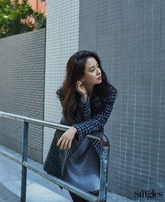"""With all the crazy surrounding what happened with """"Running Man"""", Song Ji Hyo escapes into the silence of Hong Kong with the January 2017 issue of Singles. We think this woman deserves s…"""