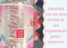Aquatique, cea mai buna formula de apa oligominerala pentru copilul mic Mai, Drink Bottles, Vitamins, Water Bottle, Drinks, Drinking, Beverages, Water Bottles, Drink