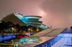Hangzhou Grand Theatre lightens up the city with its stunning architectural form.: in the highly defensive mental water sign Scorpio together with the dynamic fire sign Aries. Valid for field level 3 Theatre Architecture, Amazing Architecture, Architecture Design, China Today, Water Signs, Fire Signs, Hangzhou, Level 3, China Travel