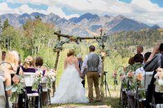 Country Mountain Wedding - Rustic Wedding Chic