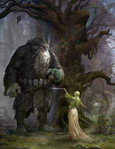 Enchanted Forest by Feike ********************************* Go ahead take it. You're the new guardian, you're gonna need it.