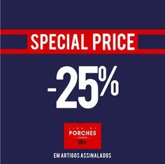 Something good is coming up! SPECIAL PRICE -25% Aproveite os artigos selecionados da nova coleção com 25% de desconto.  Shop online @ www.lionofporches.com