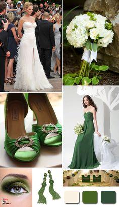 Paleta barw: zielony